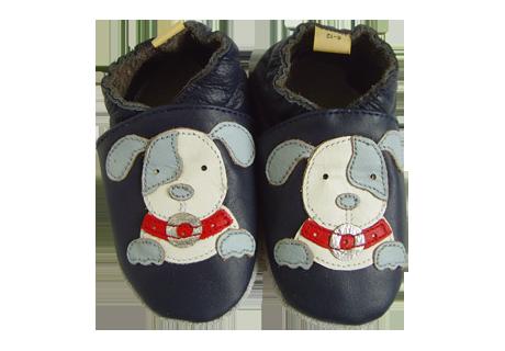 chaussons gar on motif chien sage chausson b b conforment la norme europ enne en71. Black Bedroom Furniture Sets. Home Design Ideas