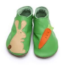 Chaussons bébé carotte lapin